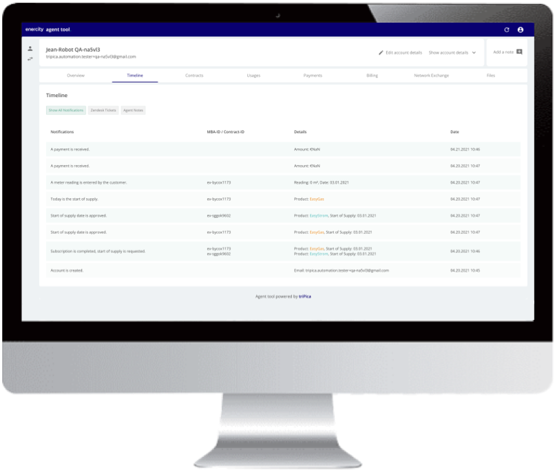 Reduce costo-to-serve with triPica's ERP platform for utilities