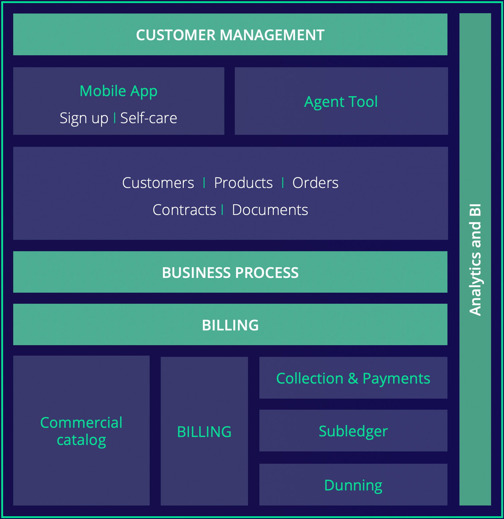 triPica's key differentiators: business processes, analytics, BI and more